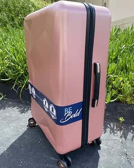 Pacific Coast Polycarbonate Rose Gold 29″ Hardside Large Luggage