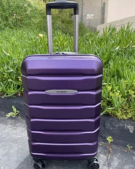 Samsonite Tech 2.0 22″ Hardcase Carry On Luggage Purple