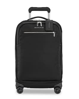 Briggs & Riley Rhapsody Tall Carry-On Spinner PU122SP-4 Black LIFETIME WARRANTY