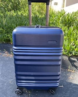 Travelers Choice Pomona International Hardcase Carry-On Luggage with USB Port