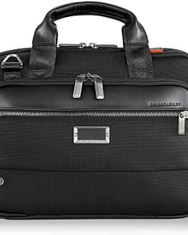 Briggs & Riley @Work KB415X-4 SMALL EXPANDABLE BRIEF CASE with LIFETIME WARRANTY