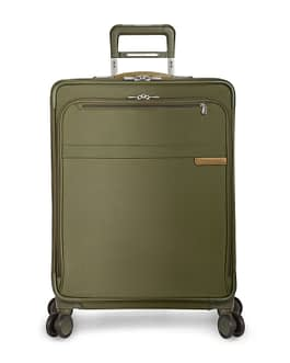 Briggs & Riley Baseline U125CXSP-7 MEDIUM OLIVE EXPANDABLE SPINNER WHEELS with LIFETIME WARRANTY