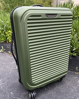 Travel Select 22″ Carry On Hardside Spinner Wheel Luggage Green
