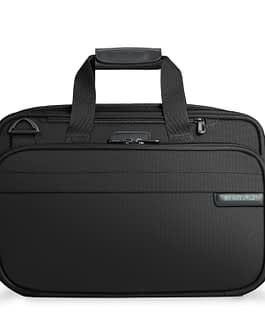 Briggs & Riley Baseline, 231X-4 EXPANDABLE CABIN BAG with LIFETIME WARRANTY