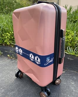Pacific Coast Polycarbonate Rose Gold 22″ Hardside Carry On Luggage