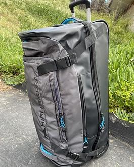 High Sierra 30-Inch Drop-Bottom Rolling Duffel Bag
