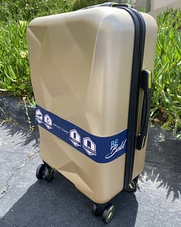 Pacific Coast Polycarbonate Gold 22″ Hardside Carry On Luggage