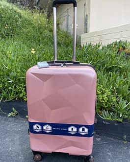 Pacific Coast 2-Piece Polycarbonate Rose Gold Hardside Luggage Set